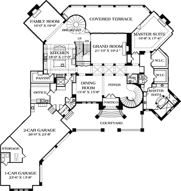 Plan 66342we 3 Bed Beauty With 2 Lanai: Best 25+ Tuscan House Plans Ideas On Pinterest