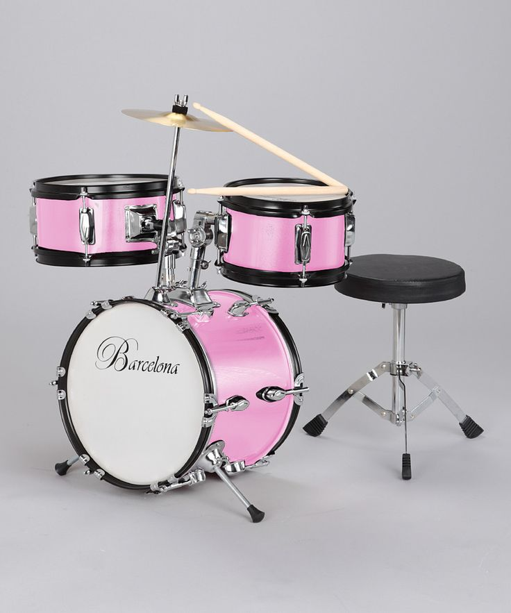 Pink Small Drum Set by new Dimensions on #zulily
