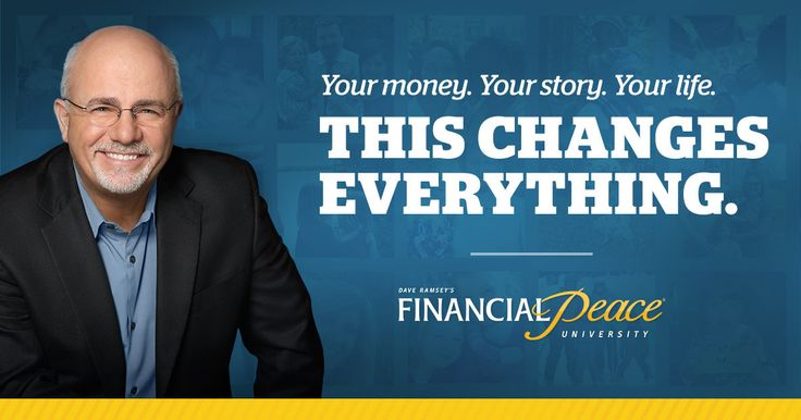 Let Financial Expert Dave Ramsey show you how to dump debt, budget, build wealth and give like never before!