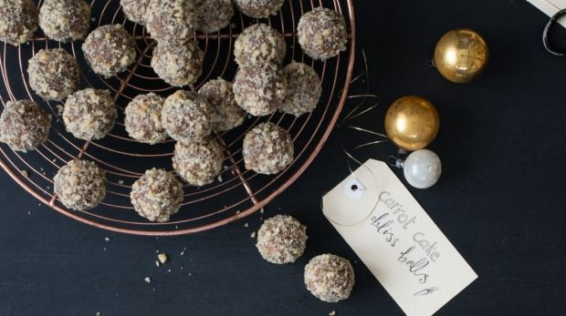 Children and adults will love these carrot cake bliss balls.