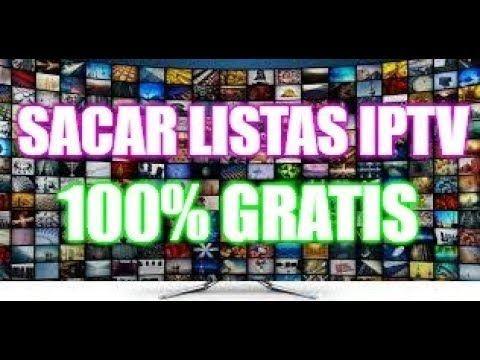 Como sacar listas IPTV Gratis 100 % seguro | IPTV
