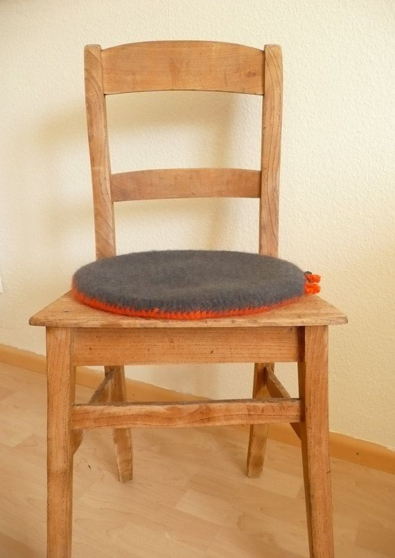 Felted Round Cushion By Anukistyle On Etsy CushionsDining Room