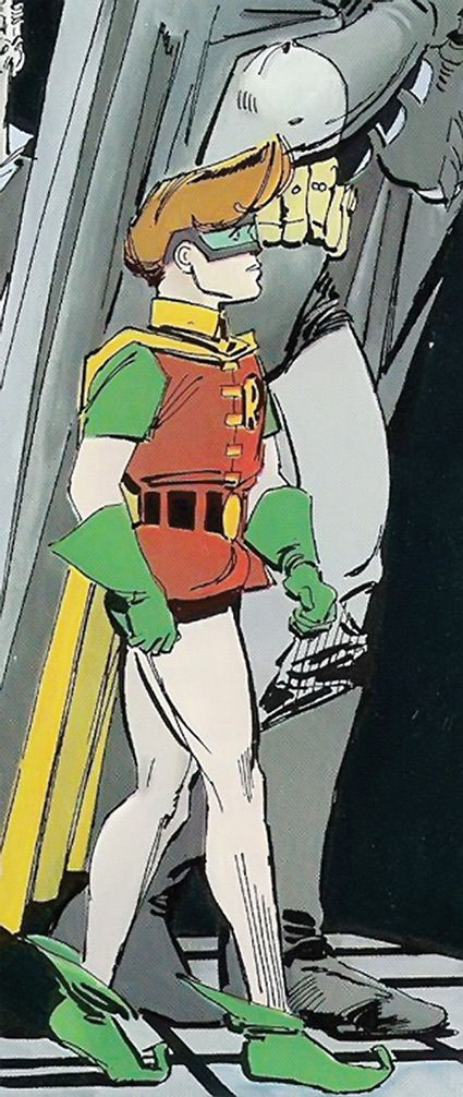 Robin - DC Comics - Dark Knight Returns - Carrie Kelley