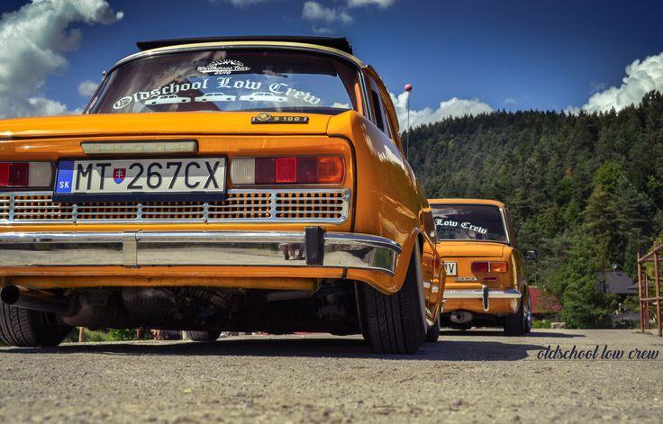 Škoda 100 Oldschool low crew Slovakia