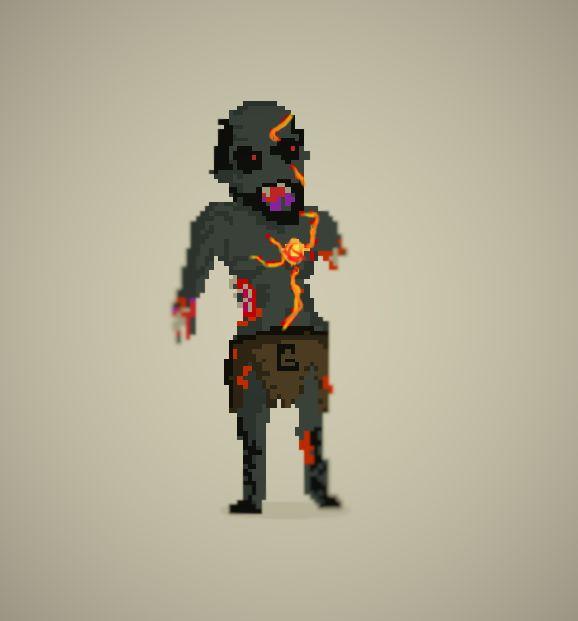 #PixelArt #Zombie #kabaneri