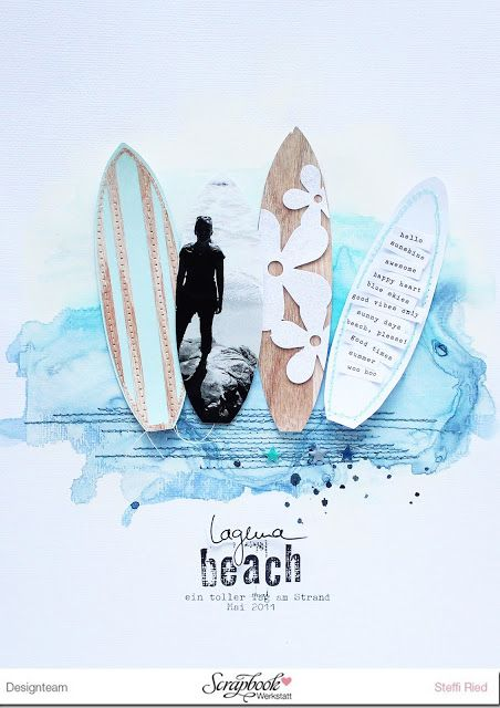 Laguna Beach - Layout - Scrap Sweet Scrap