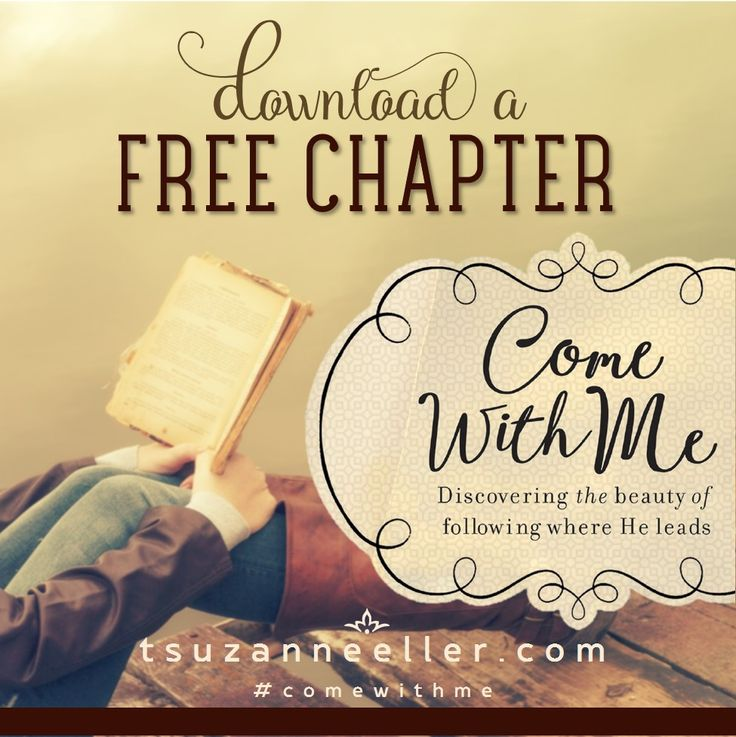 Download a FREE Chapter of Come With Me