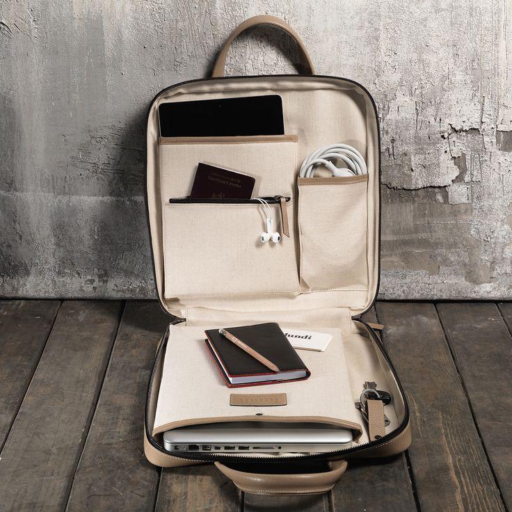 Sac briefcase cuir homme pour ordinateur et Ipad