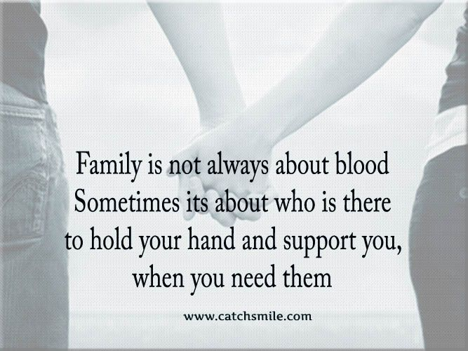 Quotes About Family Not Being There For You When You Need Them