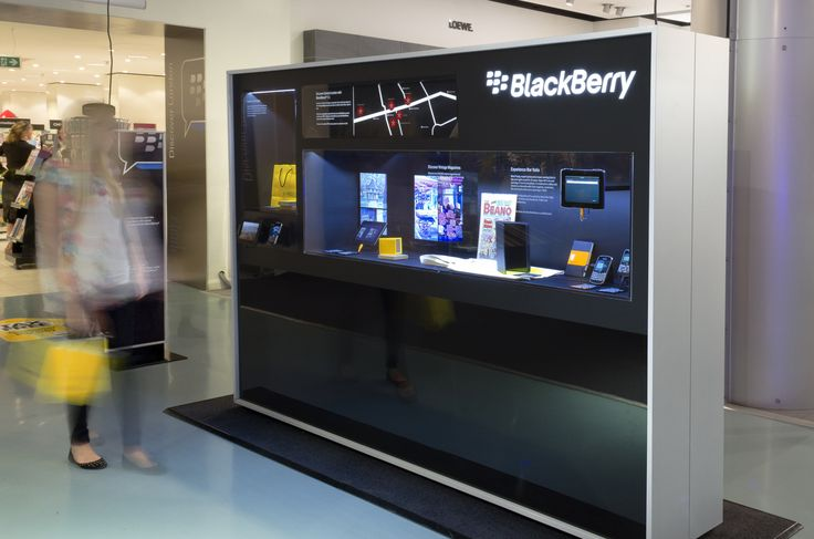 Blackberry 7.1 | Retail, Exhibition & Brand Communications Design by Pope Wainwright