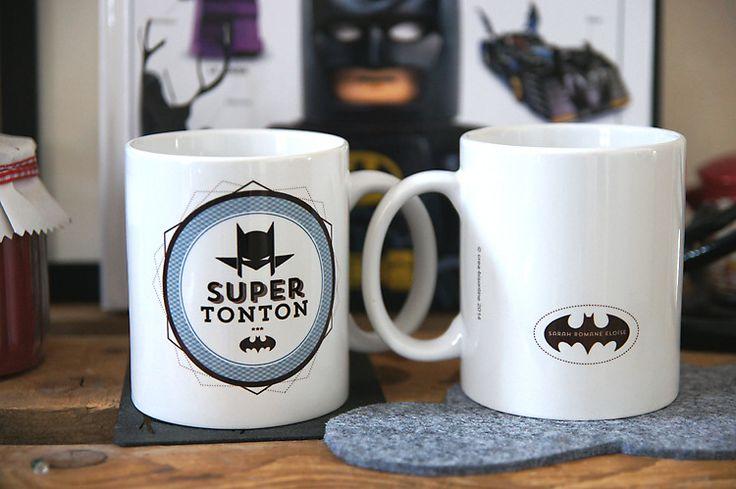 le Mug des super héros PERSONNALISABLE : Cuisine et service de table par crea-bisontine