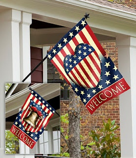celebrate liberty with this 2 sided decorative house flag from evergreen enterprises - Decorative House Flags
