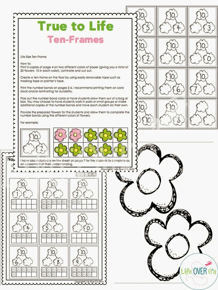 Interactive 10 Frame Activities | Framess.co