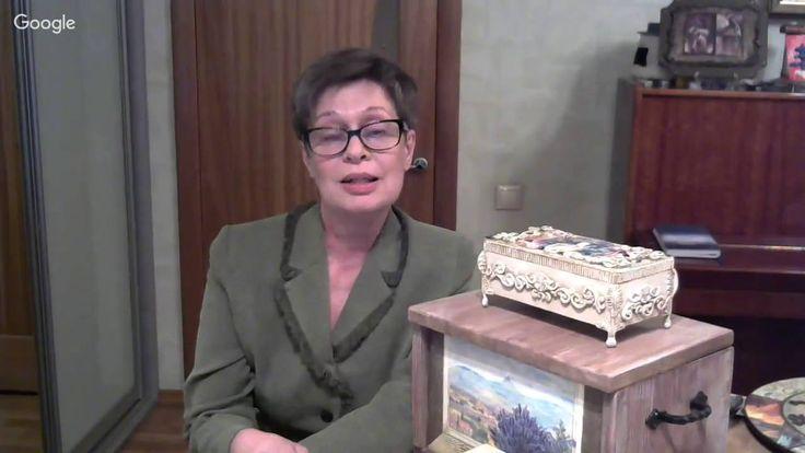 Екатерина Васильева  Изготовление и декор заготовки  Часы ручной работы
