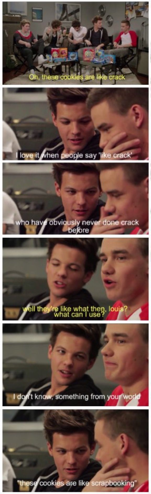 Hahahaha ive never laughed at louis and liam so hard before
