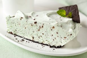 100 calorie grasshopper pudding pie