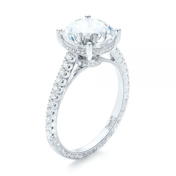 Nice Custom Diamond Engagement Ring Joseph Jewelry Bellevue Seattle Online Design Your