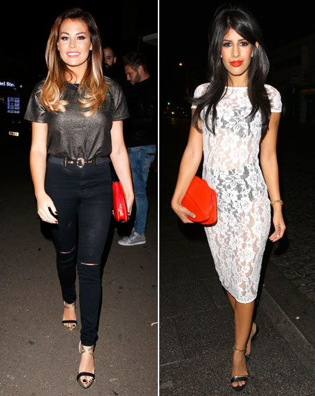 Jess Wright and Jasmin Walia rock Red Lips Clutch
