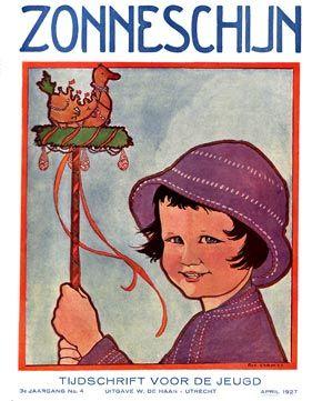 Zonneschijn, 1927, cover Rie Cramer