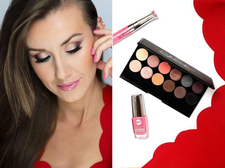 Kosmetyczna Hedonistka: Beauty | Lifestyle: MAKIJAŻ KROK PO KROKU W STYLU KIM KARDASHIAN PALETKĄ SLEEK OH SO SPECIAL. MAKIJAŻ DO CZERWONEJ SUKIENKI + KONKURS.