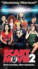 Scary Movie 2 VHS R 2004 Shawn Wayans Anna Faris Marlon Marlon Wayans 25584*^