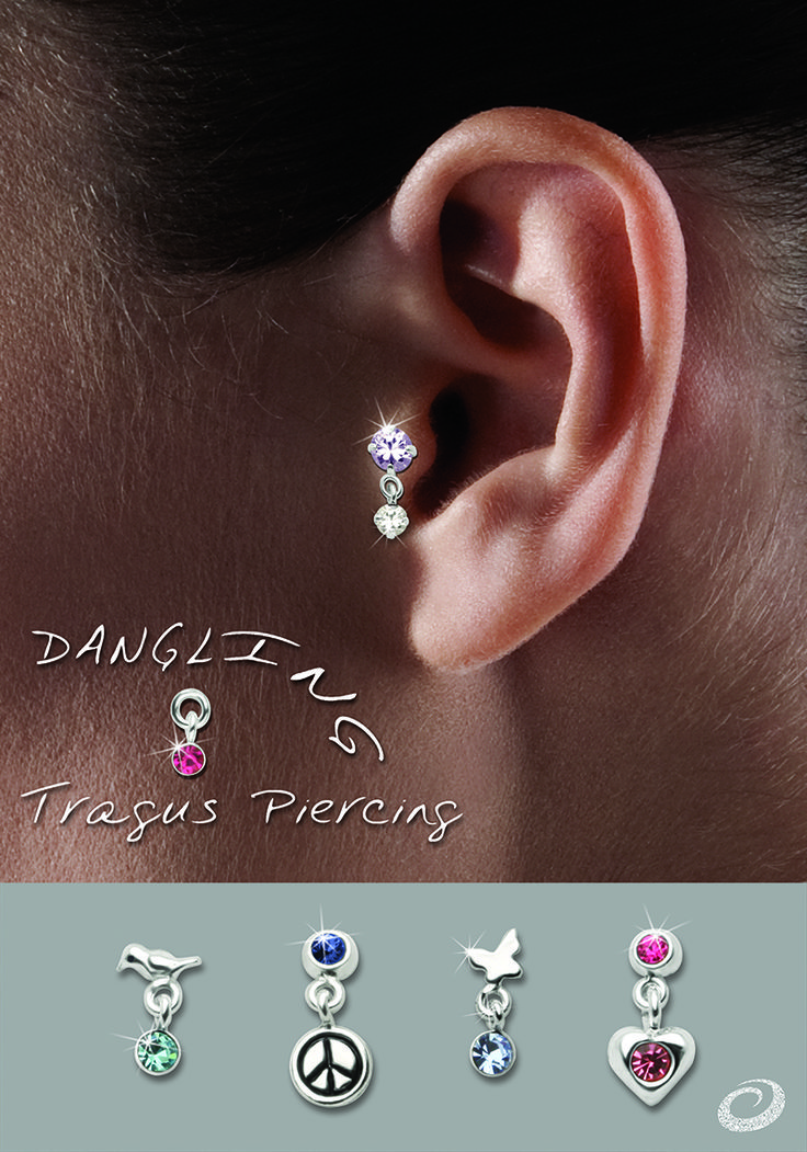 fake jewelry tail fish cheaters lllusion body jewellery wholesale illusion item piercing steel stainless hot ear shape