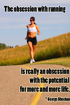 The obsession with running...