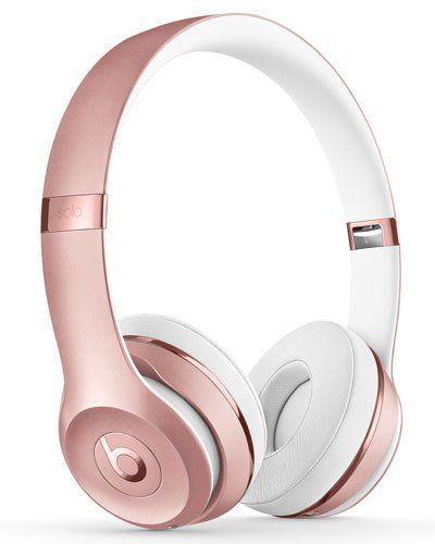 Beats by Dr. Dre Rose Gold Beats Solo 3 On-Ear Wireless Headphones
