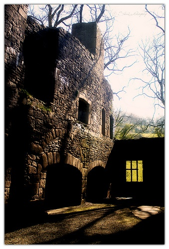 The ruins of Whalley Abbey in Lancashire, England. †
