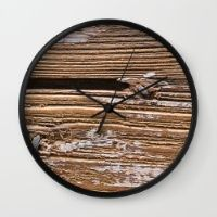 Grain Wall Clock The perfect addition to any home with an eye for natural interior design.