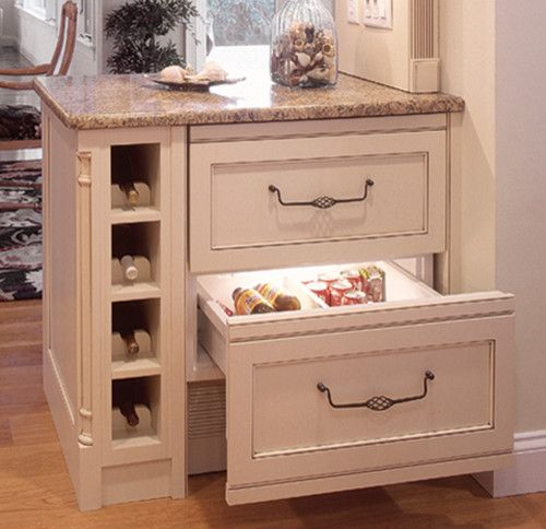 Kitchen Cabinet Accessories traditional-wine-racks
