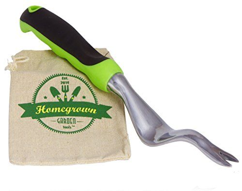 Hand weeder for lawn garden with ergonomic handle from for Lawn garden hand tools