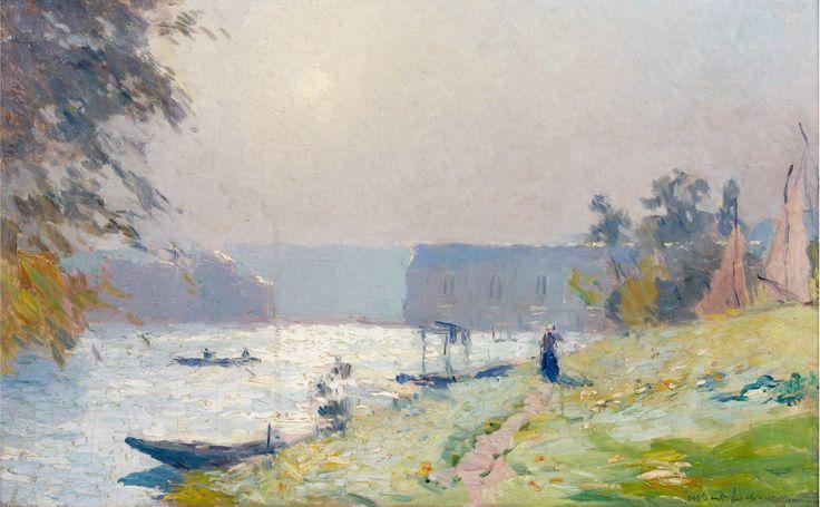 La Seine à Marly - Albert Lebourg {JPEG}