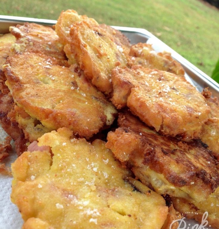 Leftover fritters - coconut flour base