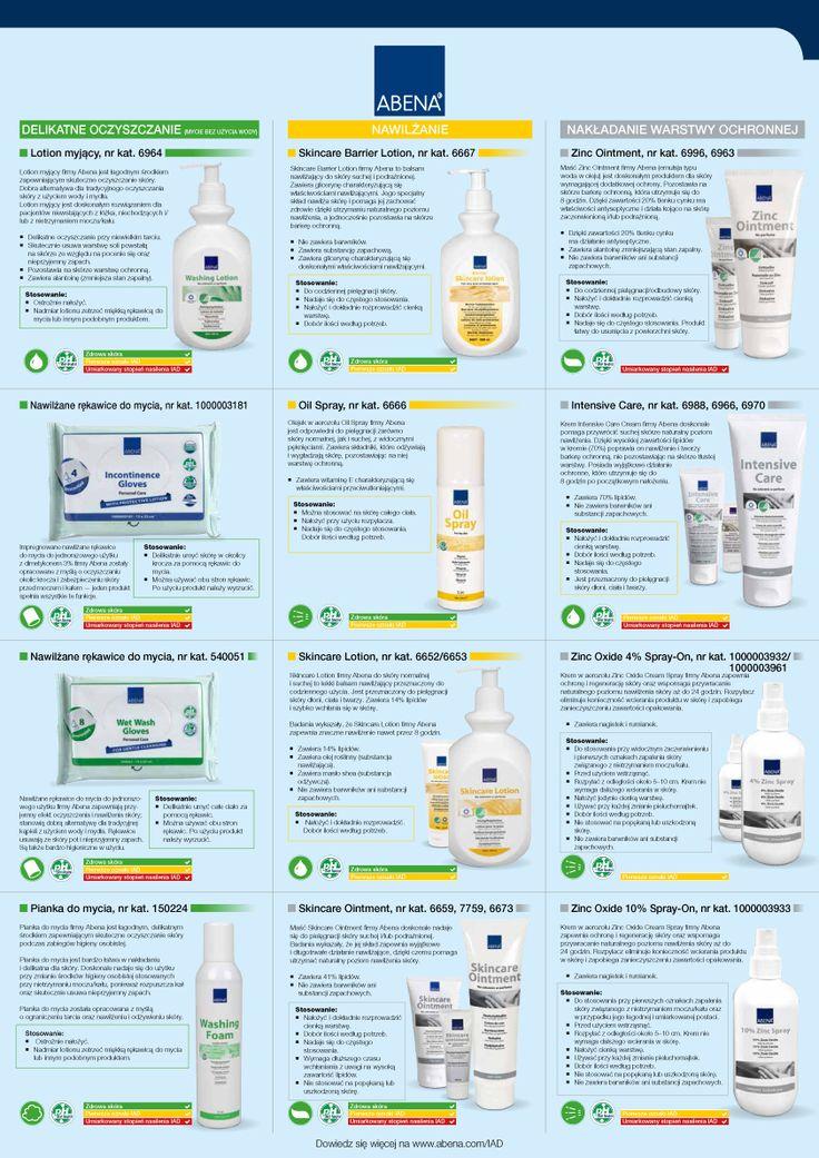Zapalenie skóry związane z inkontynencją. Zwiększ efektywność działań profilaktycznych dzięki gamie produktów firmy Abena. Trzy proste czynności. Oczyszczanie skóry, nawilżanie i nakładanie warstwy ochronnej. http://bit.ly/2fnAUJS