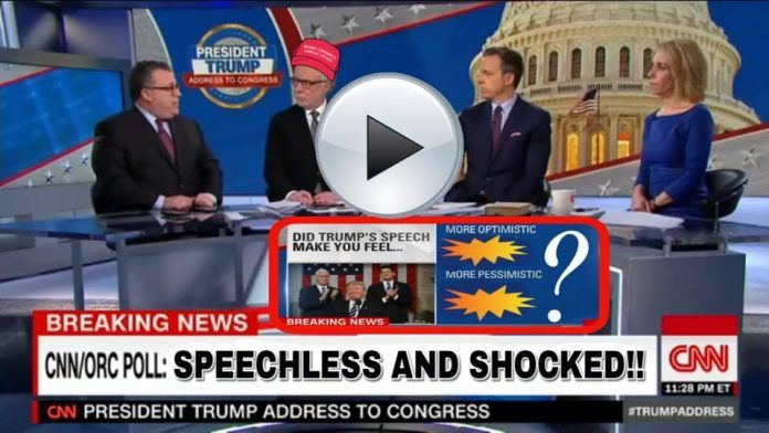 Just In! CNN SPEECHLESS- SHOCKING Results of New Poll! This will AMAZE and Shock You!  By Chrissy Snow - March 1, 2017
