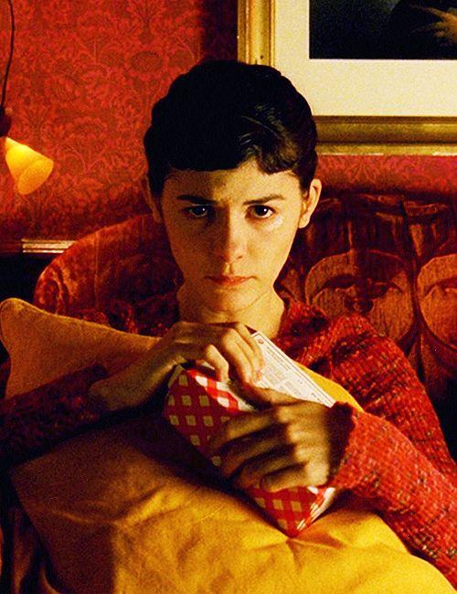 Audrey Tautou as a sad Amèlie - Le Fabuleux Destin d'Amélie Poulain, 2001