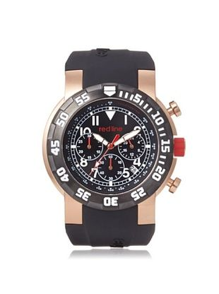 87% OFF red line Men's 50010-RG-01 RPM Black/Rose Silicone Watch