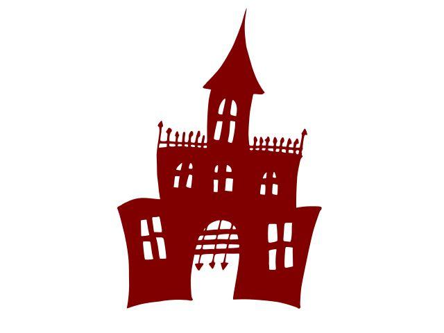 Хэллоуин-преследовало-замок-дом-3