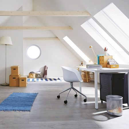 Die besten 25+ Mansarde Schlafzimmer Stauraum Ideen auf Pinterest - schlafzimmer mit schrge