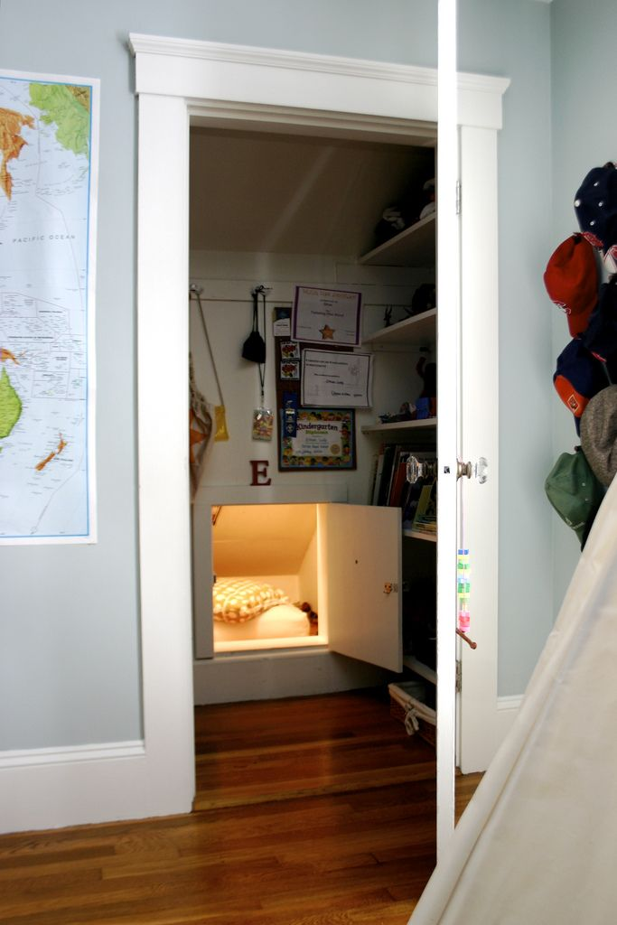 Amazing What Kid Wouldnu0027t Love To Have A Secret Little Cubby In