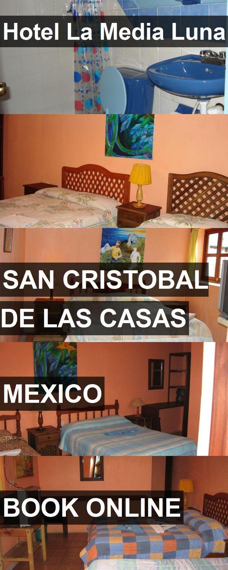 Hotel La Media Luna in San Cristobal de las Casas, Mexico. For more information, photos, reviews and best prices please follow the link. #Mexico #SanCristobaldelasCasas #travel #vacation #hotel
