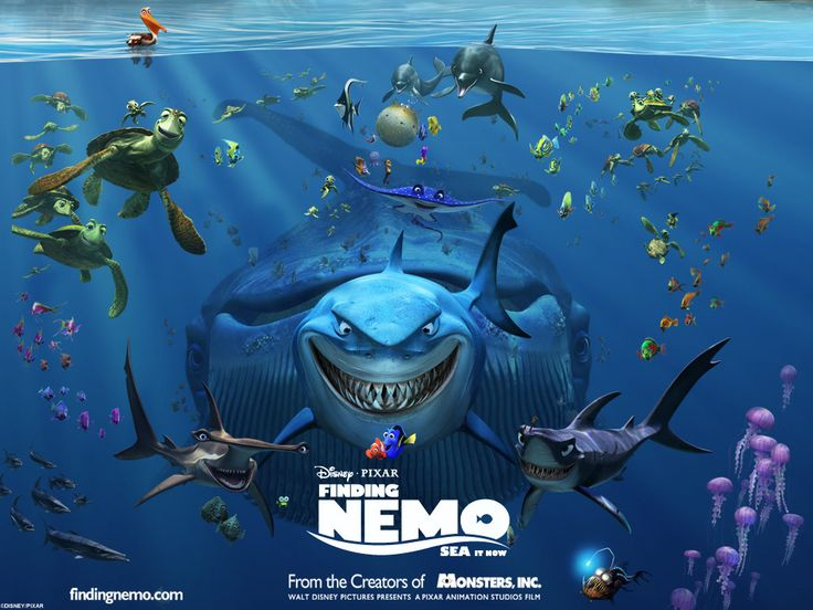 This was also one of my favorite movies from Disney. I always used to watch it when it was on Disney and on my Xbox when I had to go to bed. And I sometimes asked my mom can we get a goldfish and name it Nemo and yet again my mom would just smile.