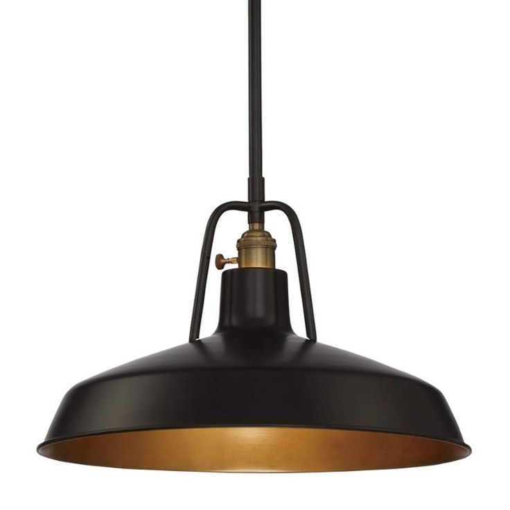 View The Quoizel RLY1815 Railway 1 Light 155 Wide Pendant At LightingDirect