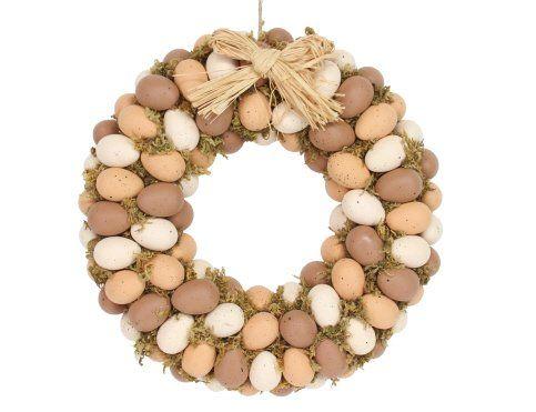 Gisela Graham Natural Moss Egg Wreath