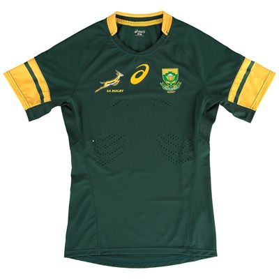 South Africa Springboks Rugby Test Home Shirt: South Africa Springboks Rugby Test Home Shirt