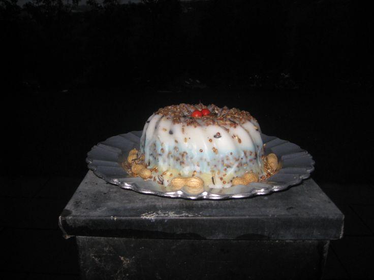 Birdcake multicolor by Borgssweetart