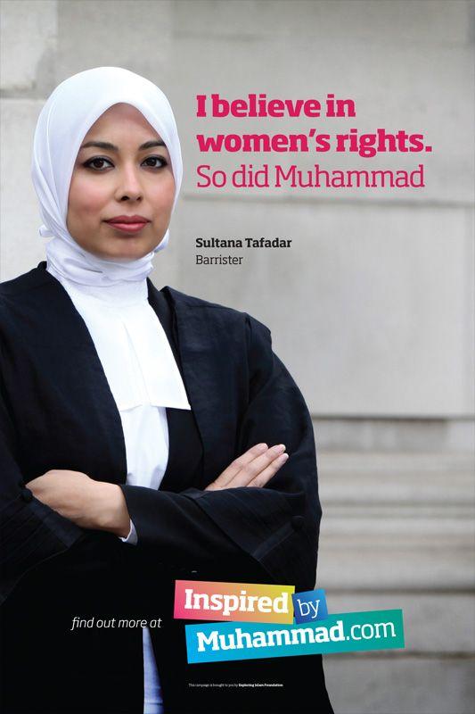 The Prophet - Sultana Tafadar, barrister