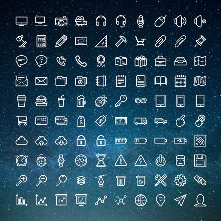 100 Free Office Icons Icons AI EOT Free Graphic Design Icon Resource SVG TTF Vector Web Font WOFF