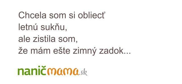Leto sa blíži... | Naničmama.sk